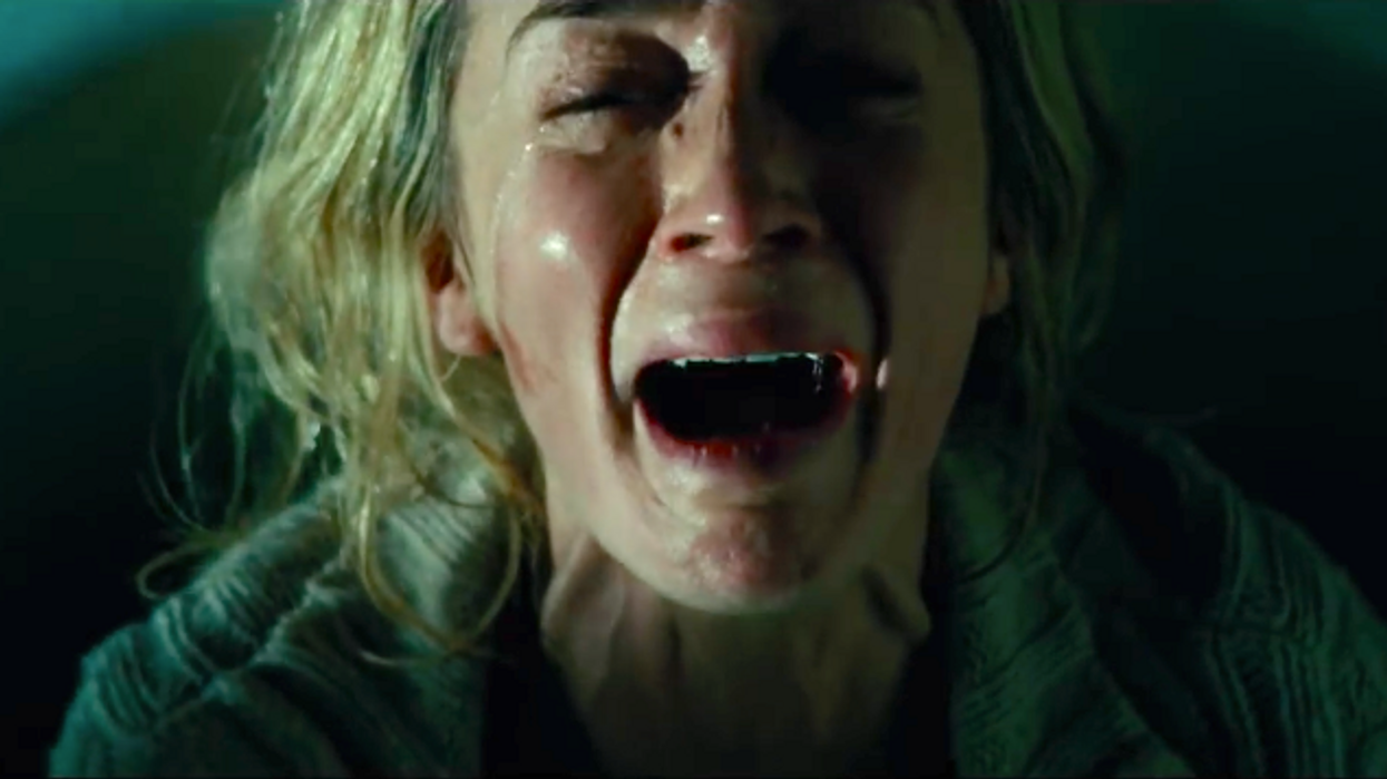 """The All-New Horror Film """"A Quiet Place"""" Has An Almost Perfect Score On Rotten Tomatoes And Sounds Terrifying AF"""