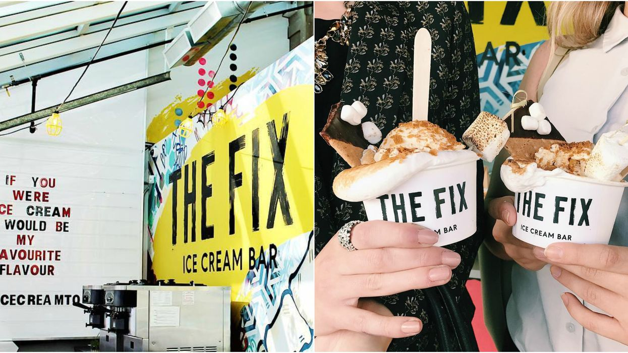 There's A Gourmet Ice Cream Bar Hidden Inside A Toronto Restaurant You Need To Discover This Spring
