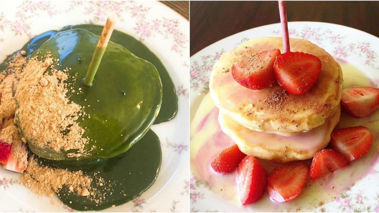 You Can Get Mochi Pancakes At This Japanese Brunch Spot In Toronto