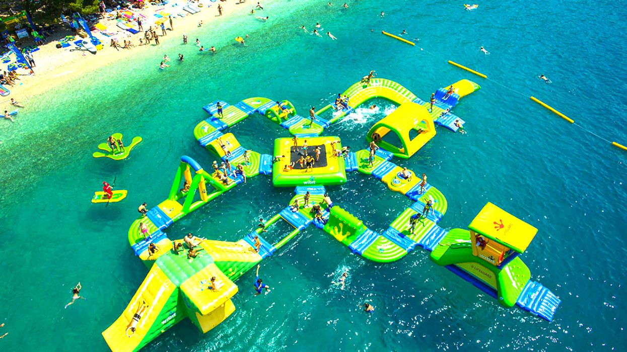 Ontario's Floating Water Park Reopens In Barrie This June