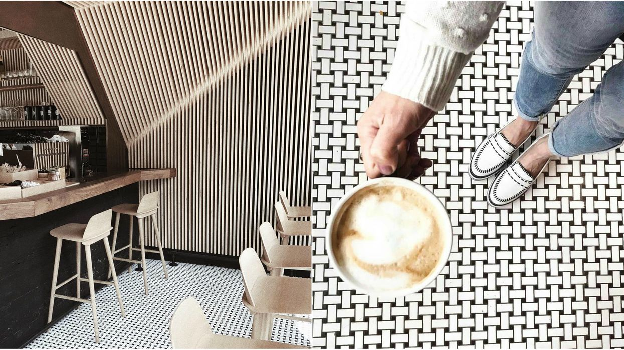 This Unique Toronto Cafe Has The Coolest Interior That's Perfect For Your Next Instagram