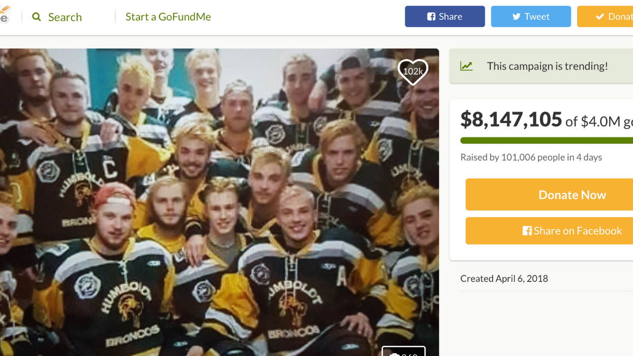A Fake GoFundMe For The Humboldt Broncos Has Appeared And Is Collecting Money To Pocket For Themselves