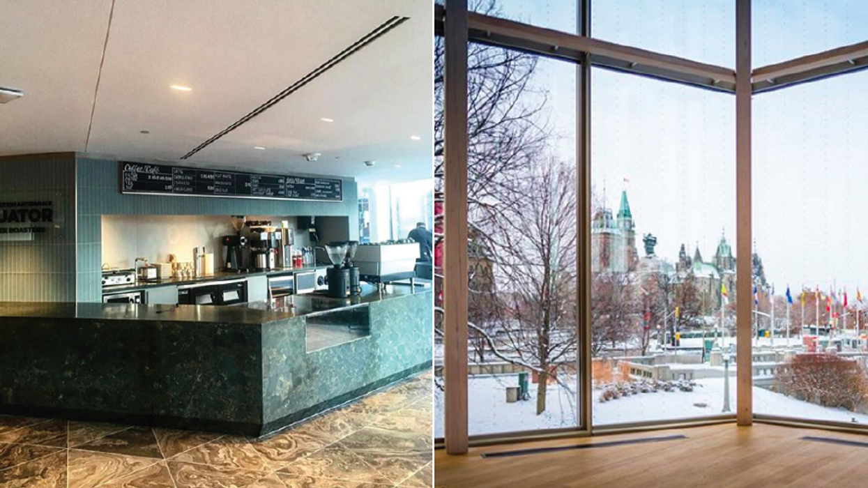 A New Coffee Shop Just Opened In Ottawa With The Most Incredible View