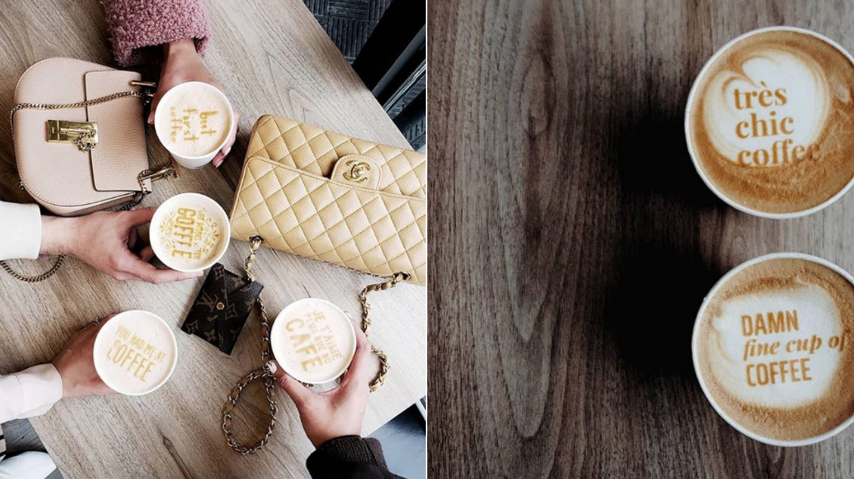 This Brand New Coffee Shop In Toronto Serves Monogrammed Lattes And It's Basically Made For Your Instagram