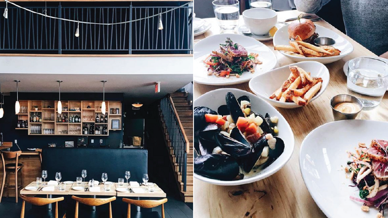 This Stunning Two Story Restaurant In Ottawa Needs To Be On Your Bucket List