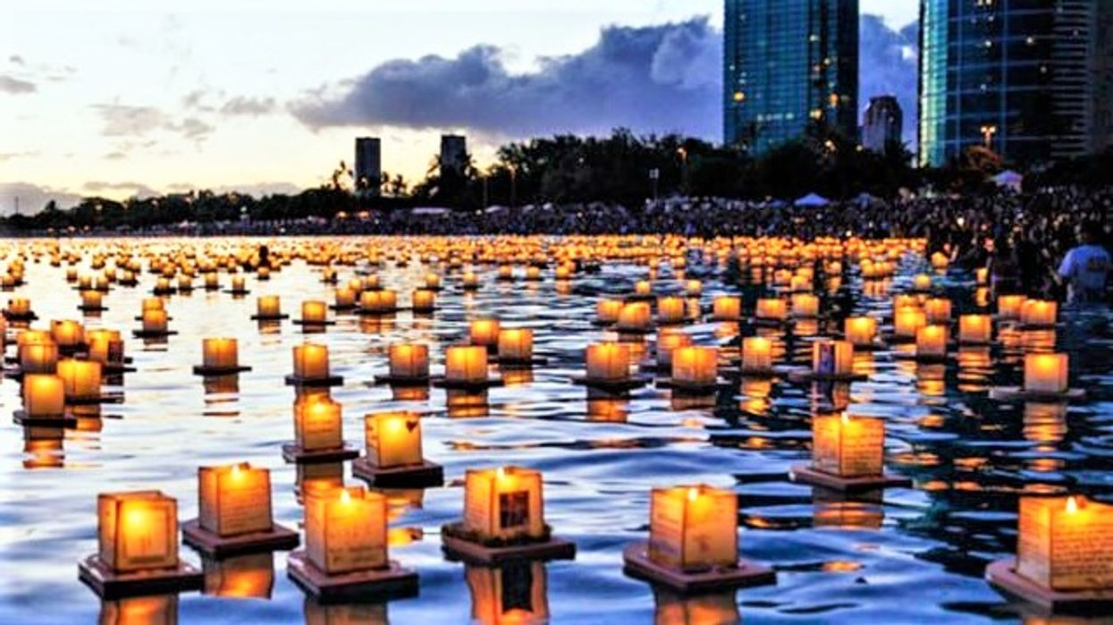 There's A Stunning Water Lantern Festival Just 2 Hours Away From Toronto This Spring