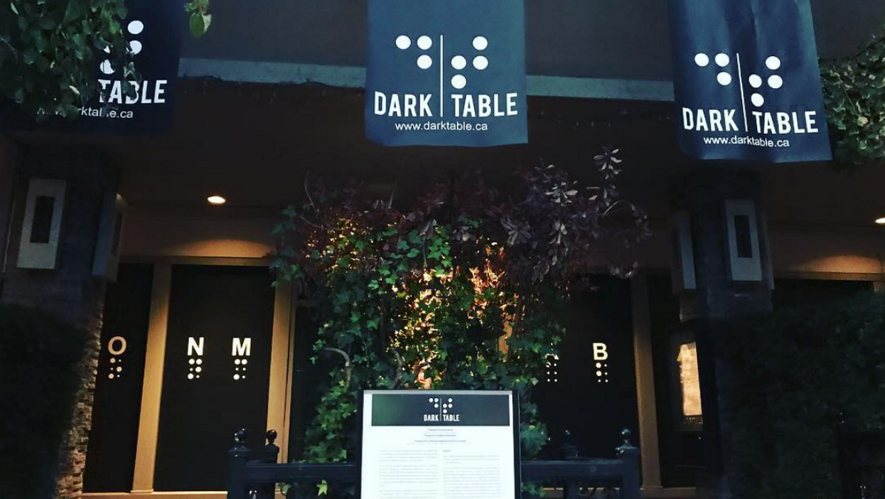 This Unique Calgary Restaurant Makes You Eat In TOTAL Darkness