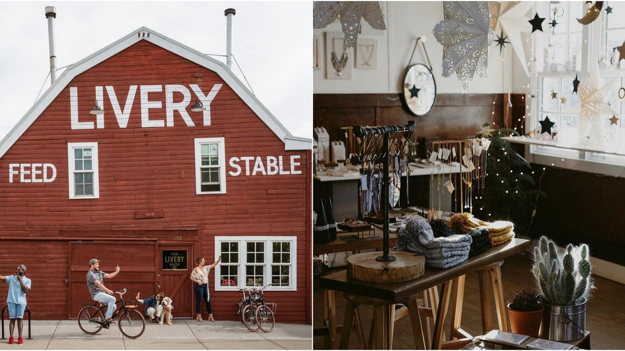 This Big Red Barn In Inglewood Is Hiding The Coolest Hipster Market