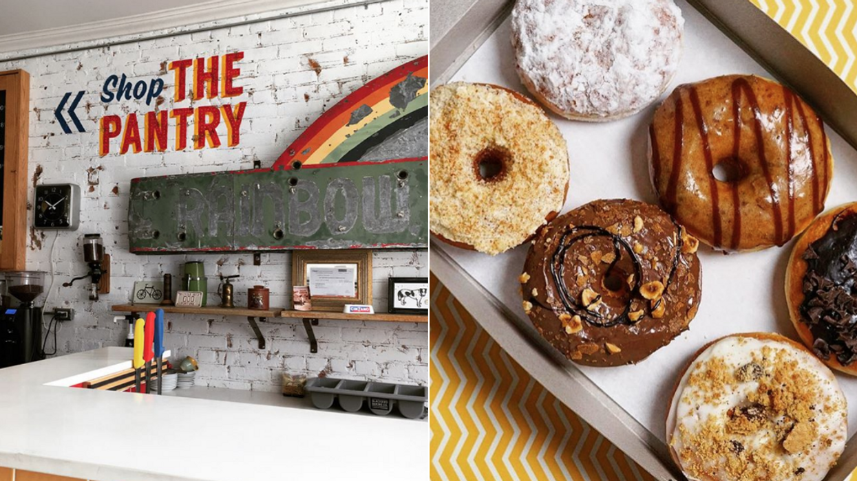 This Toronto Cafe Serves Up Your Favourite Local Donuts And Gelato And Is Practically Made For Instagram