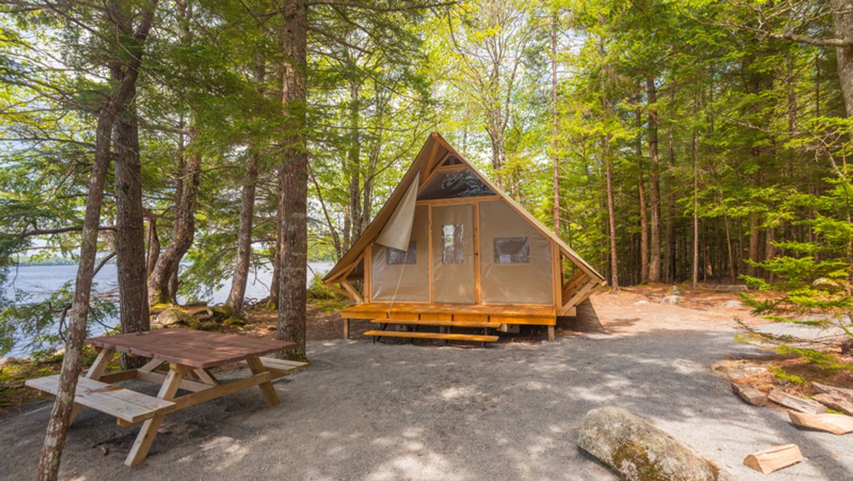 These Rustic Cabin Tents Are The Perfect Place To Go Camping In Ontario This Summer