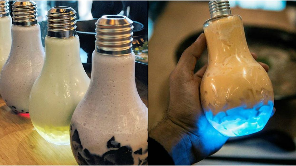 You Can Get Hipster AF Bubble Tea In A Lightbulb In Edmonton And Here's Where