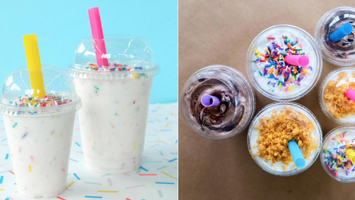 This Spot In Toronto Serves Birthday Cake Shakes That Are Like Mcflurries On Crack