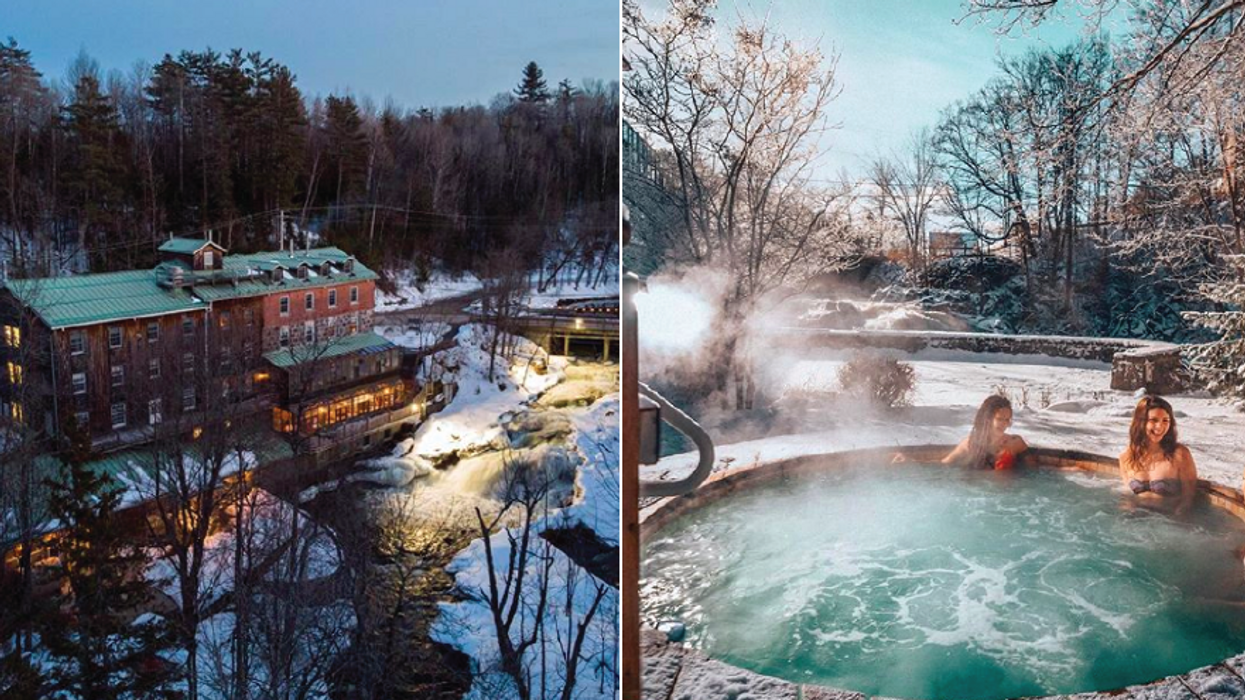 This Gorgeous Spa Near Ottawa Is Basically Floating On Water