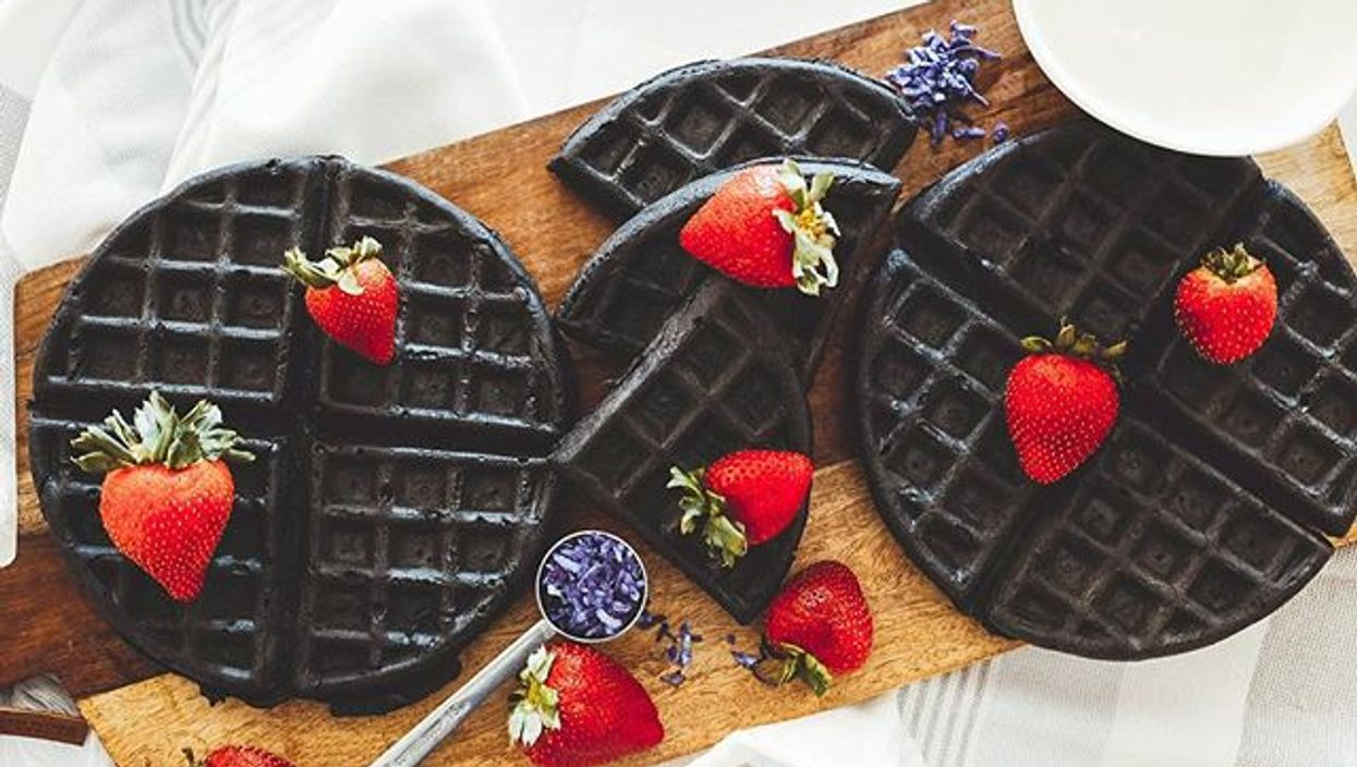 This Calgary Restaurant Has Charcoal Waffles As Black As Your Soul