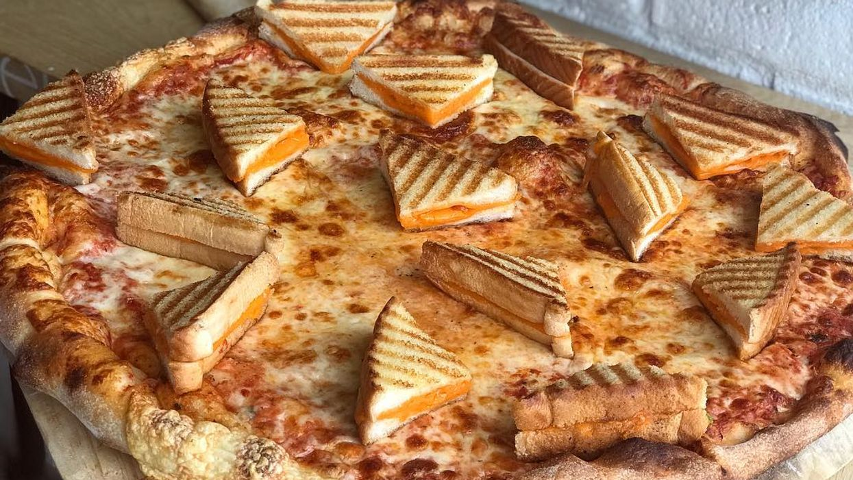 Those Pizzas Topped With Mini Grilled Cheese Sandwiches Are Back At This Toronto Bakery