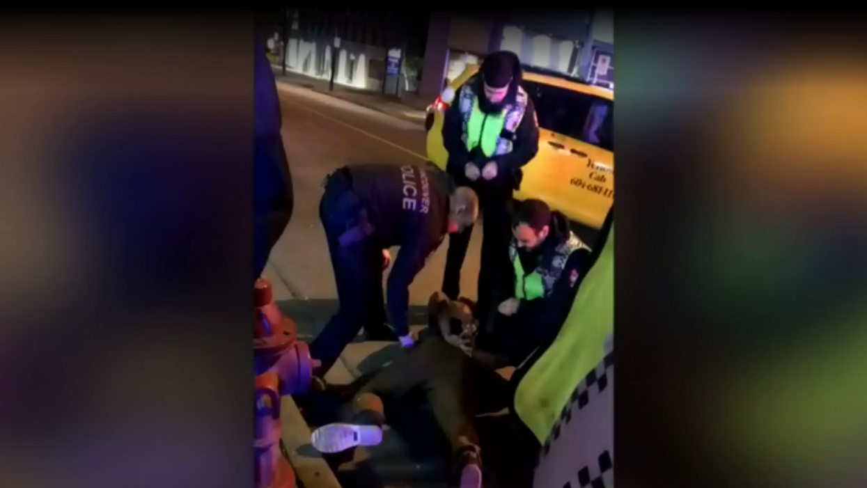 Vancouver Police Are Being Investigated After Tasering A UBC Football Player For Jaywalking (Video)