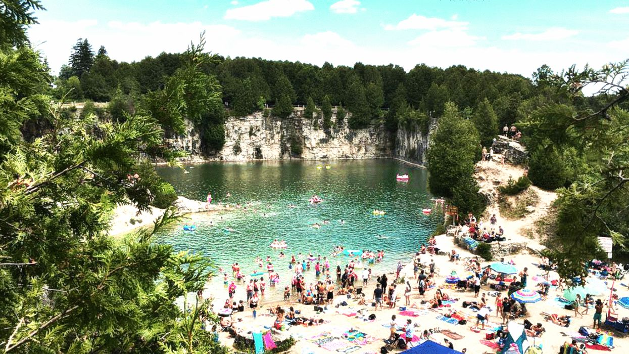Ontario's Most Iconic Swimming Hole Reopens This June 2018
