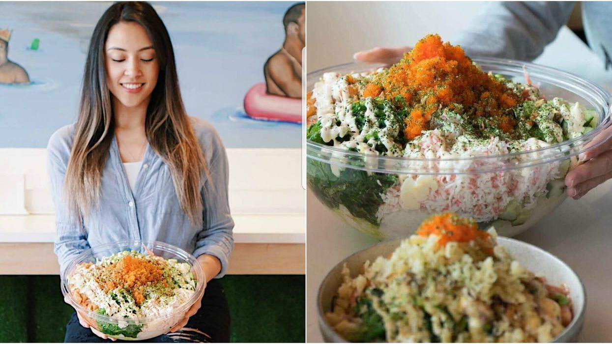 Tackle An Epic 10-Pound Poké Bowl Food Challenge At This Restaurant In Vancouver