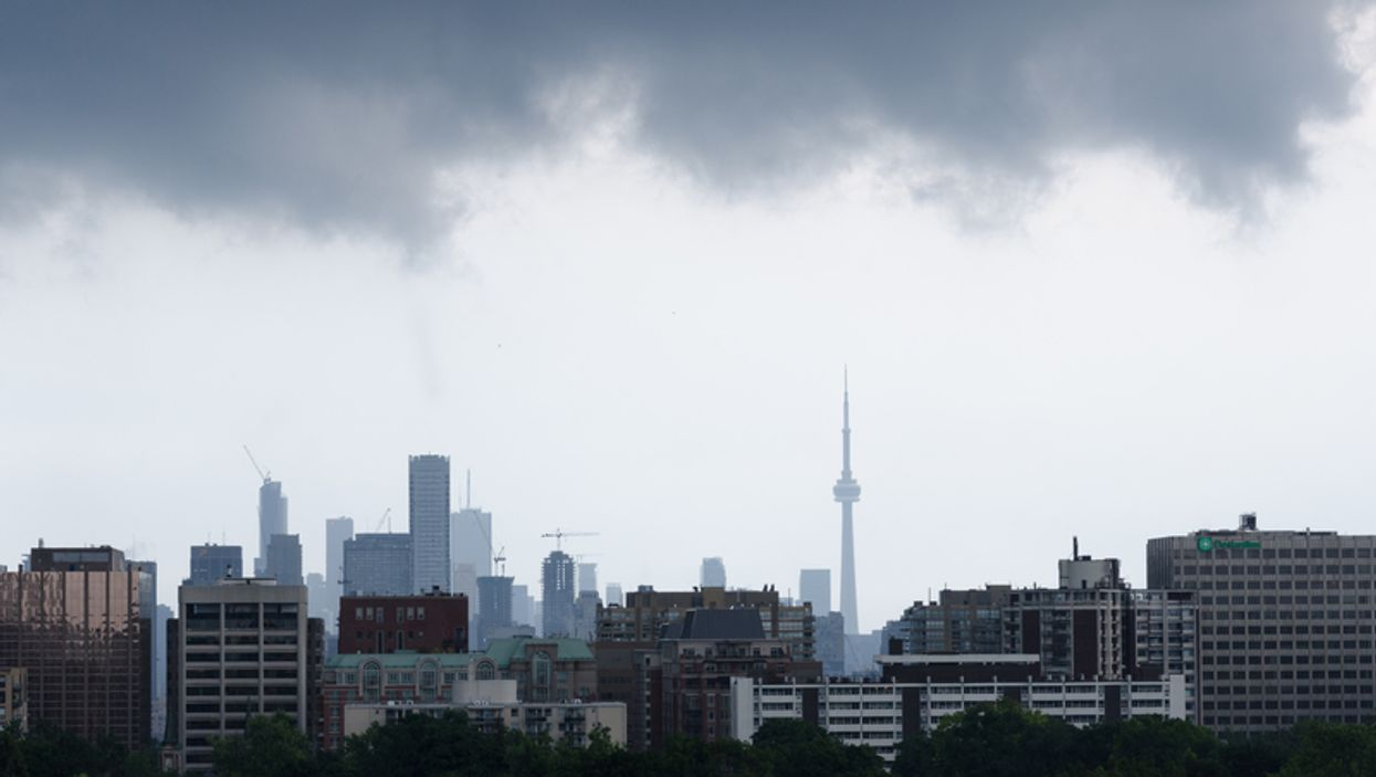 Environment Canada Has Issued A Weather Alert For Severe Winds In The Toronto Area Today