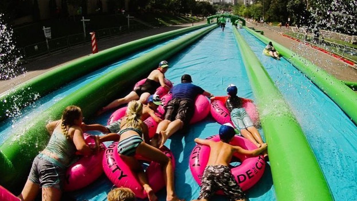Lonsdale Avenue Will Be Transformed Into A Massive 1,000-Foot Water Slide This Summer