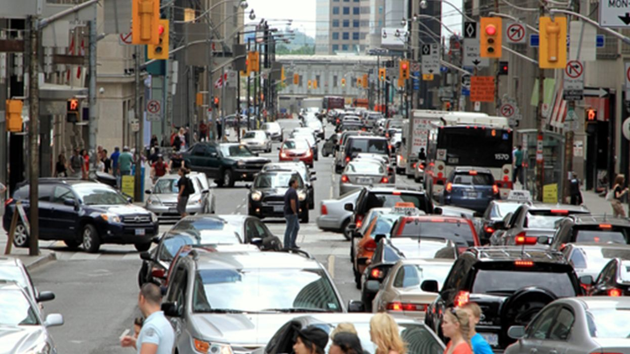 Yonge Street Is Partially Shut Down Right Now Due To Flooding (PHOTOS)