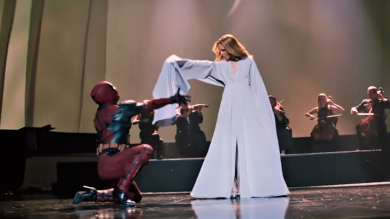 Ryan Reynolds And Céline Dion Team Up For The New Deadpool Music Video And It's The Most Canadian Thing Ever (VIDEO)