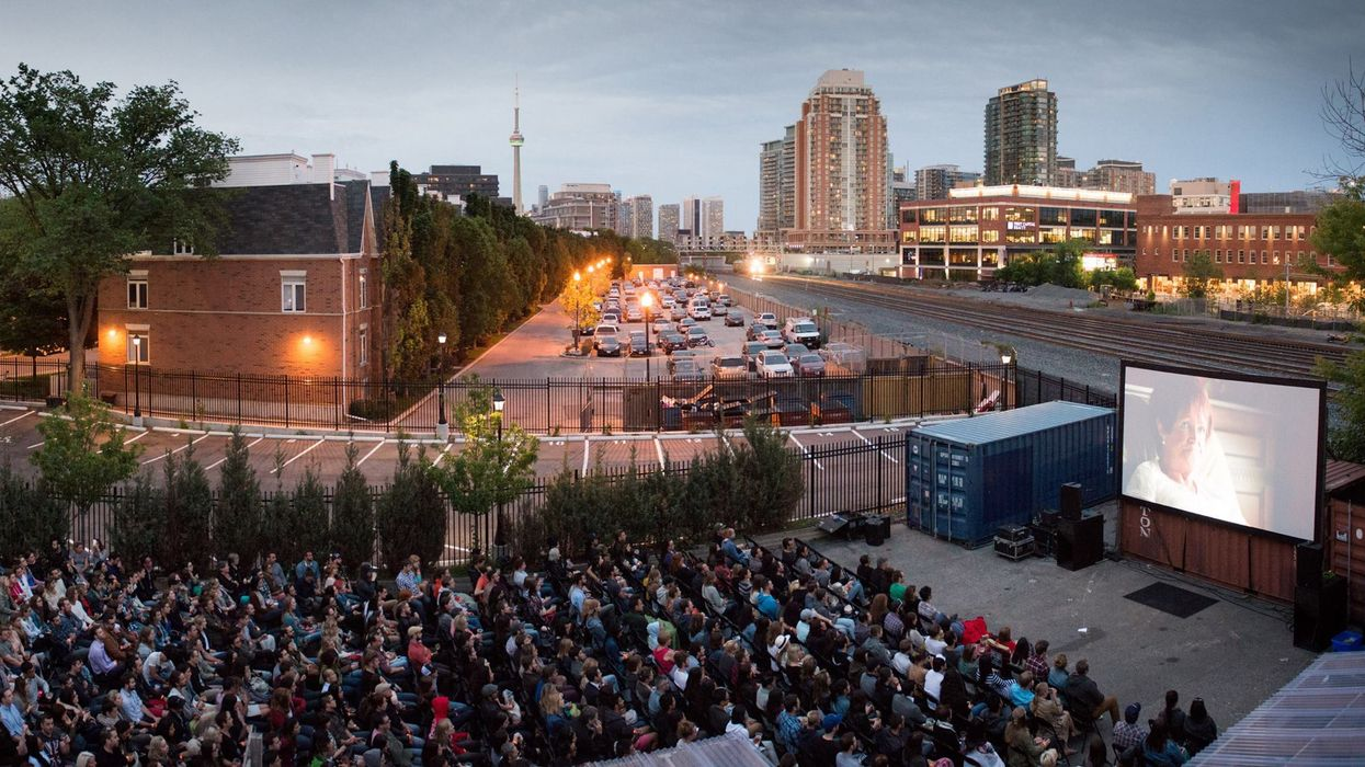 A Huge Outdoor Film Festival Will Take Place All Summer Long In Toronto