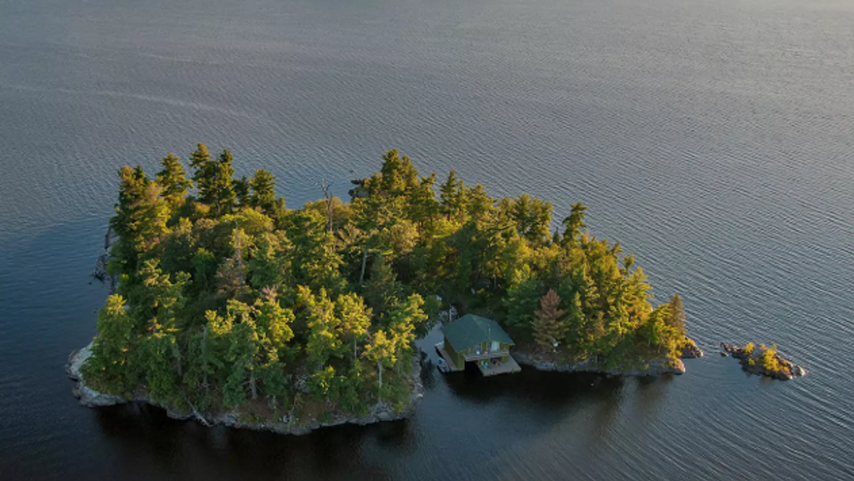 You Can Rent A Cabin On A Private Island For Super Cheap In Ontario This Summer
