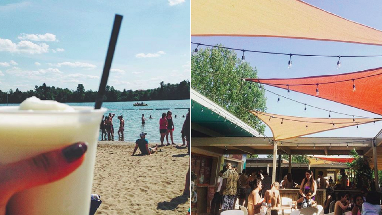This Bar On The Beach In Ottawa Will Make You Feel Like You're Not Anywhere Near The City