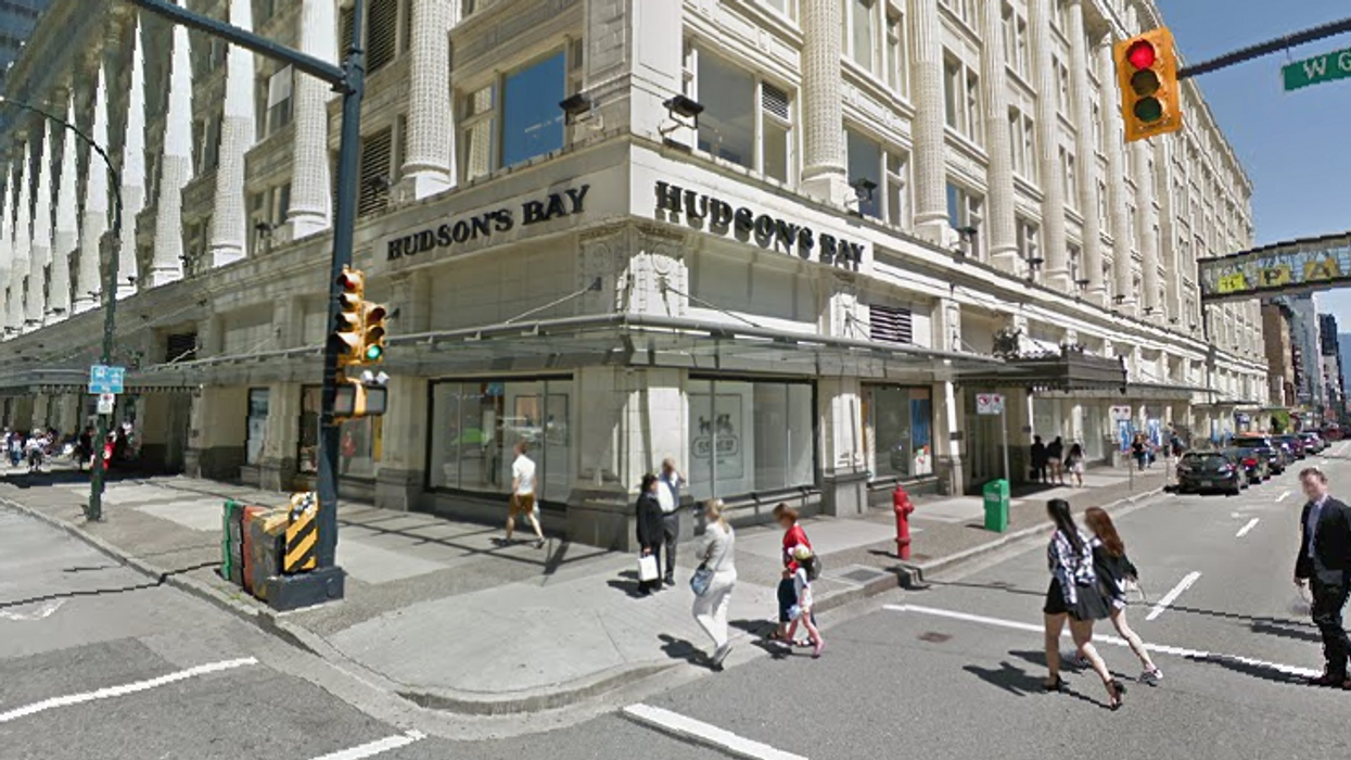 Vancouver's Downtown Hudson's Bay Property To Sell For $675 Million Dollars