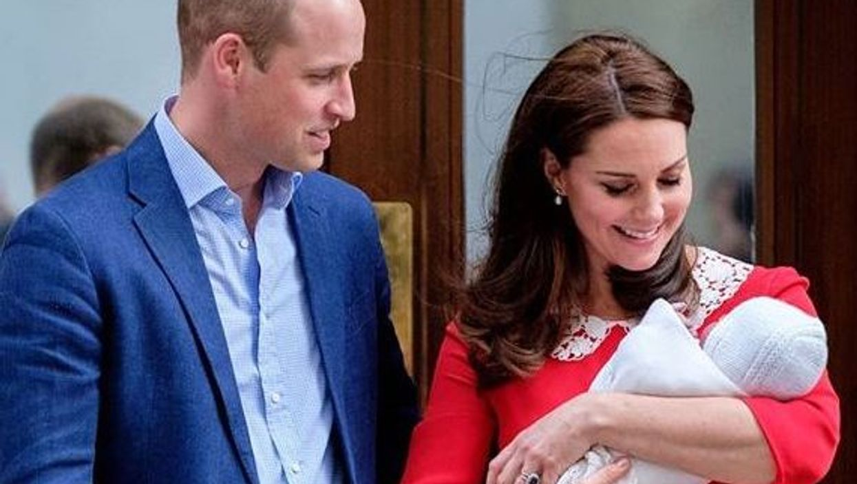The First Official Photos Of Royal Baby Prince Louis Have Been Released