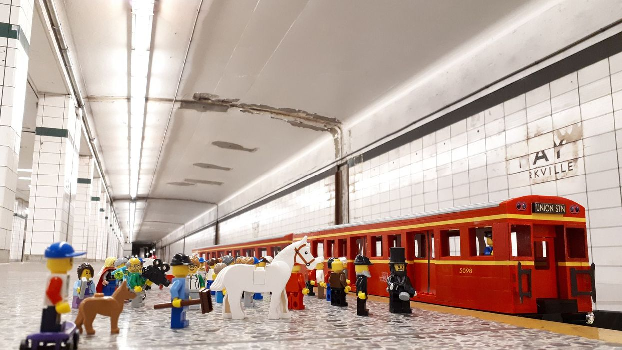 Toronto's Hosting An Epic Lego Exhibit In An Abandoned TTC Subway Station This Month