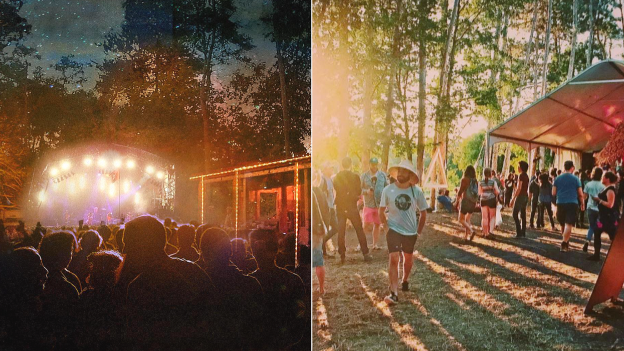 You Can't Miss This Magical Forest Music Festival Coming To Ottawa