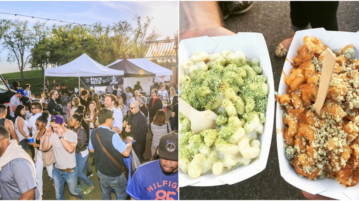A Massive Mac N' Cheese Festival Is Coming To The GTA This Summer
