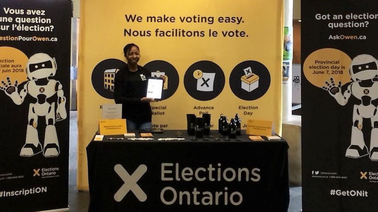 Ontarians Will Be Using Electronic Voting Machines For The First Time In This Coming Election