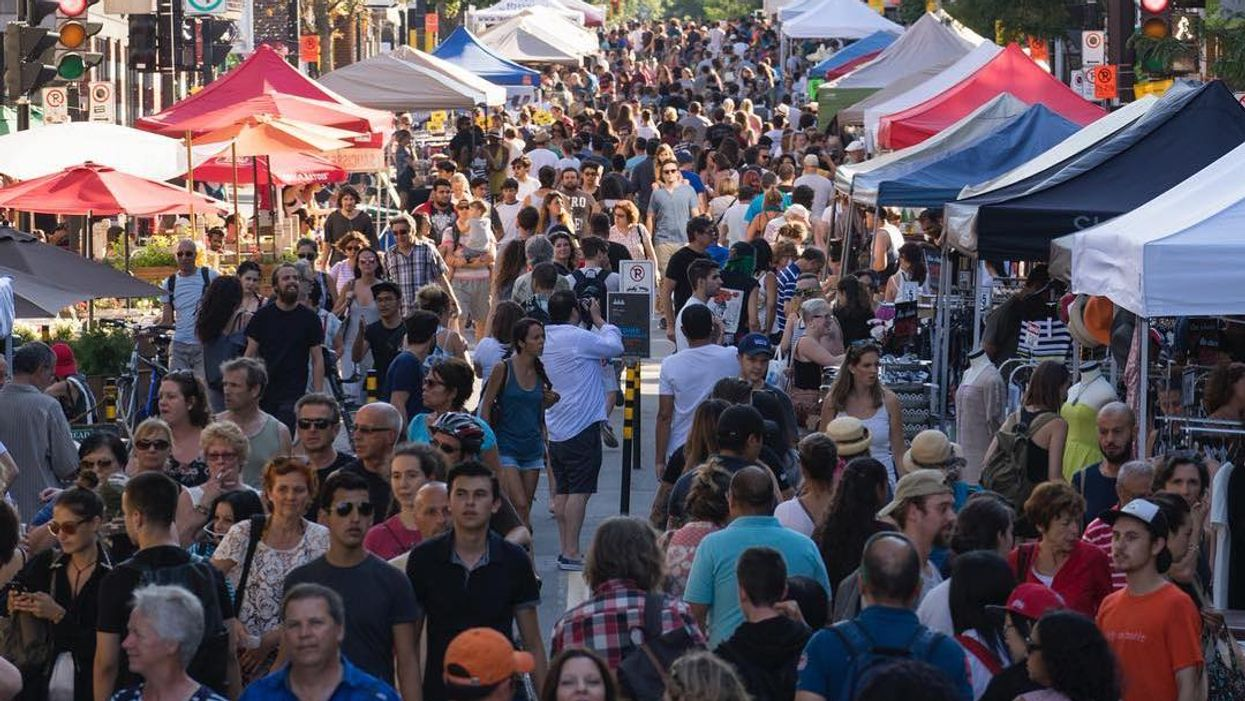Toronto Is Closing Off Eglinton Ave. West For A Huge Sidewalk Sale This Summer
