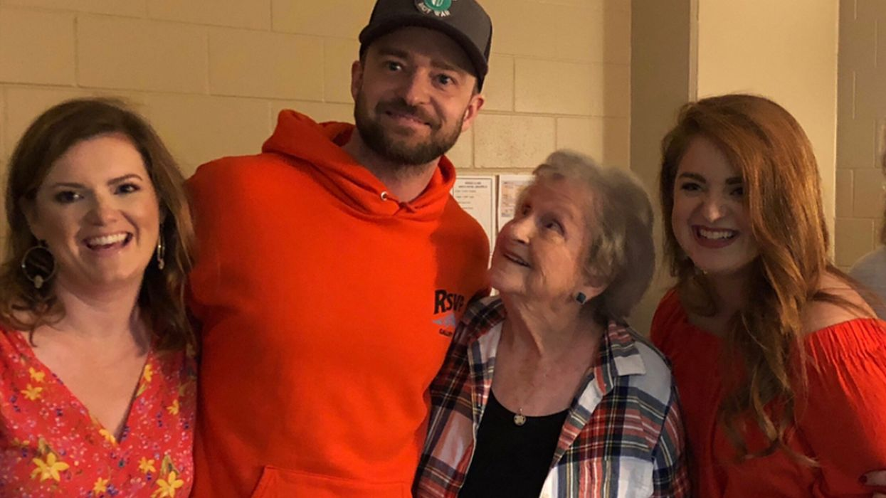 Justin Timberlake's Biggest Fan Is An 88-Year-Old Woman And He Did The Cutest Thing To Surprise Her