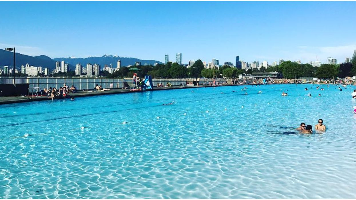 Vancouver's Newly Renovated Beach-Side Pool In Kitsilano Is Reopening This Weekend