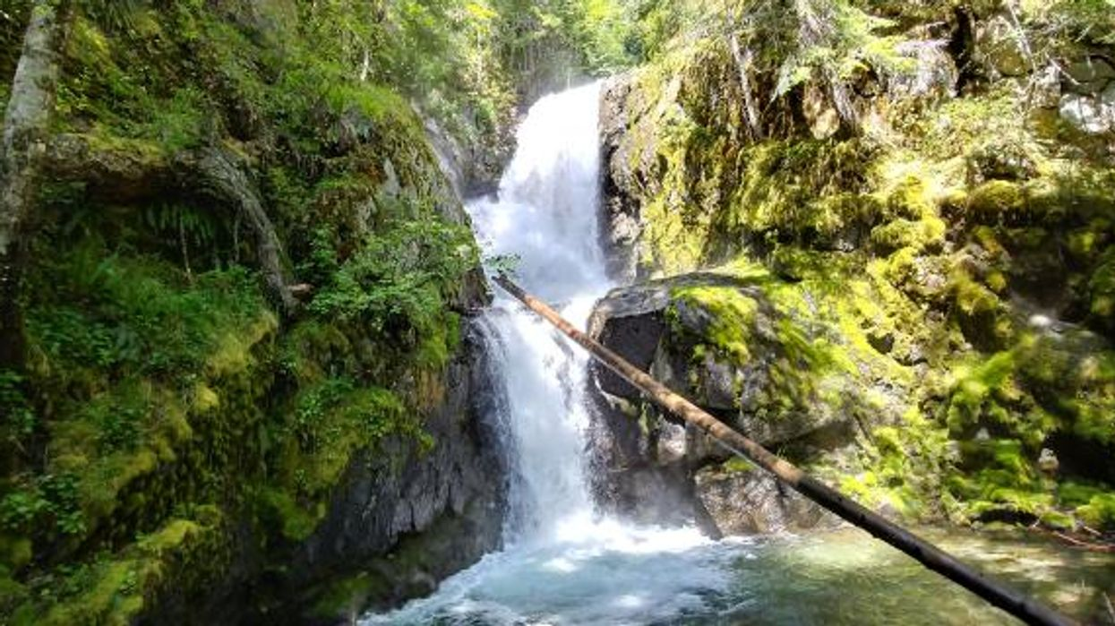 This Breathtaking 2-km Hike Will Lead You To A Hidden Waterfall Swimming Hole In BC