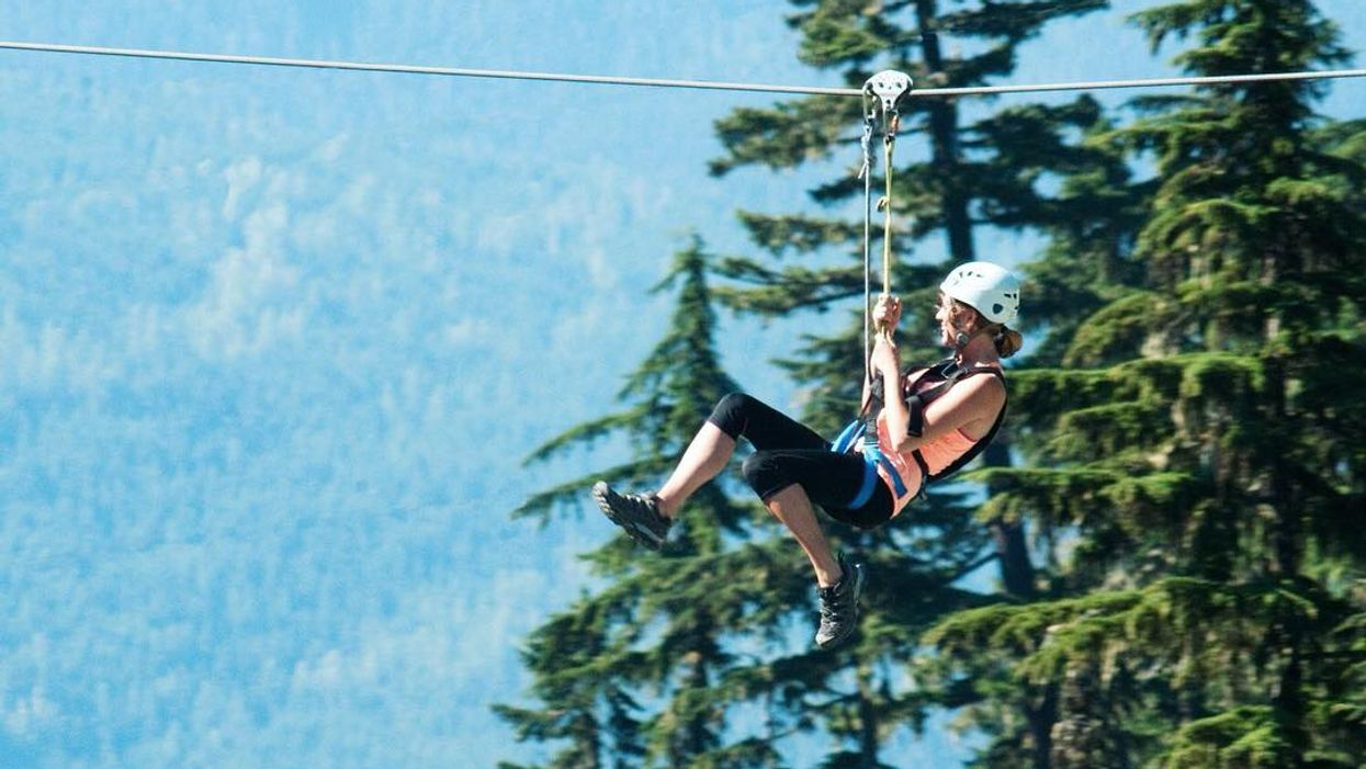 You Can Zip Line Across A Massive Gorge In Ontario This Summer