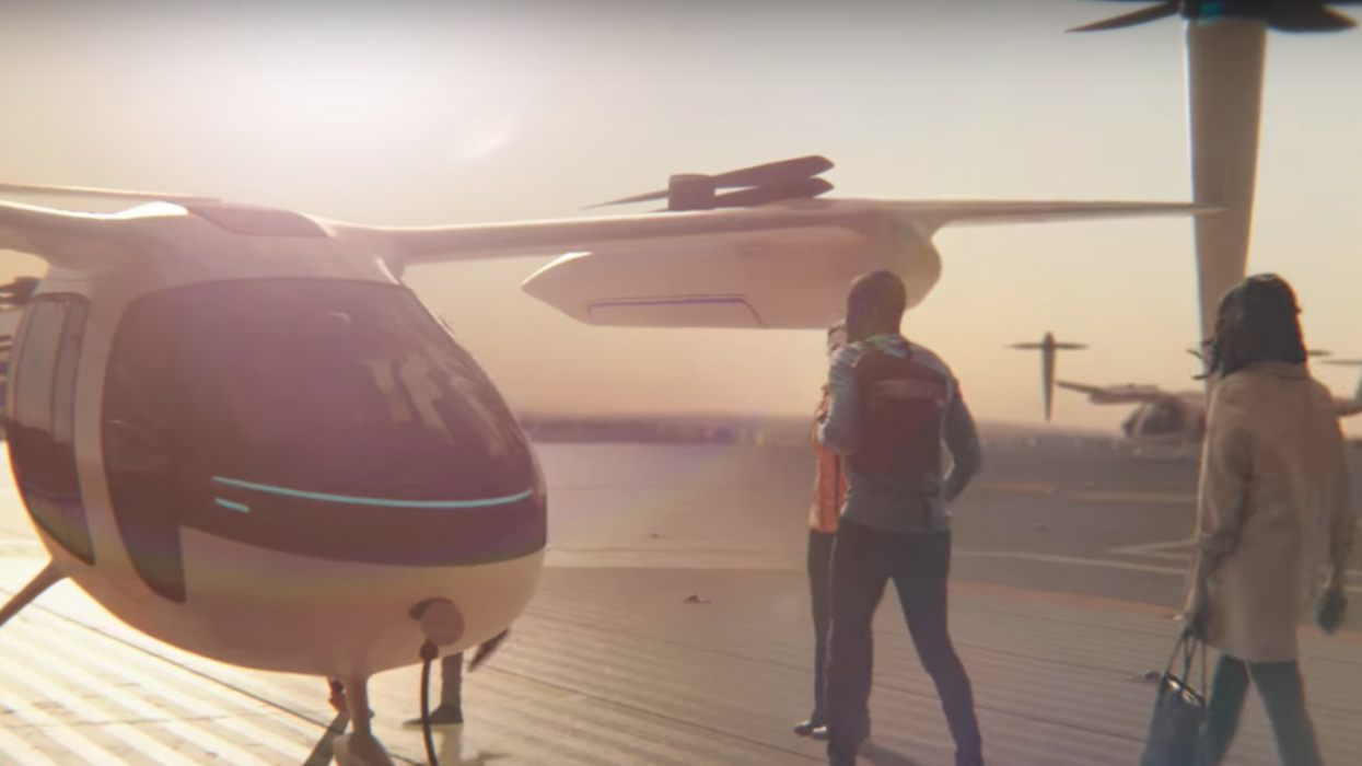 Uber Just Invested $30 Million Dollars In Flying Taxis. Really.