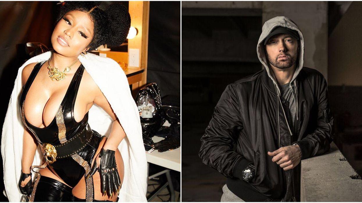 Twitter's Reaction To Nicki Minaj And Eminem Dating Is Savage As F*ck