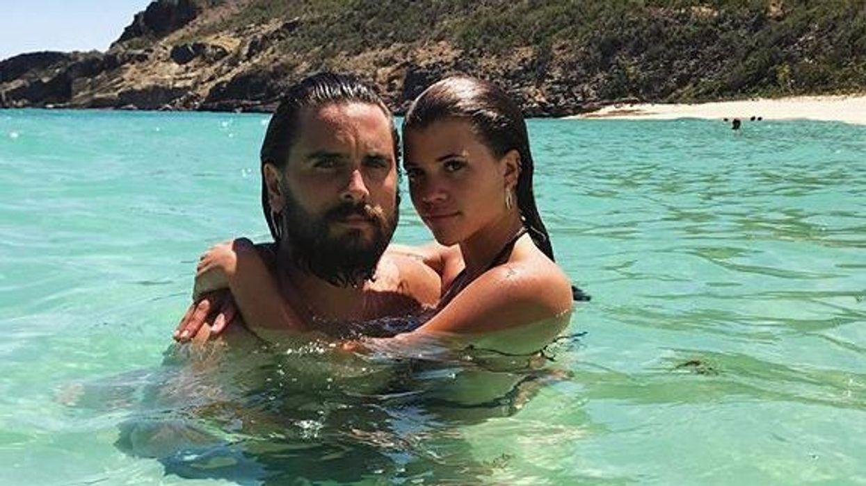 Sofia Richie Tells Scott Disick She Loves Him In Sappy Instagram Post