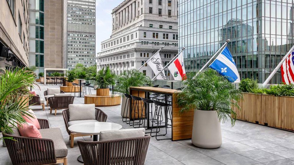 Cette nouvelle terrasse à Montréal va te faire sentir comme à New York