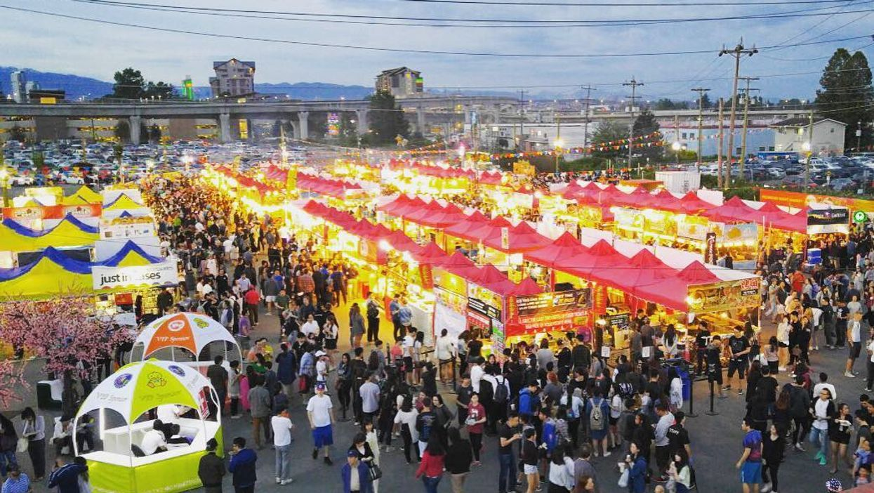 Toronto Is Hosting A Huge Outdoor Night Market Next Month