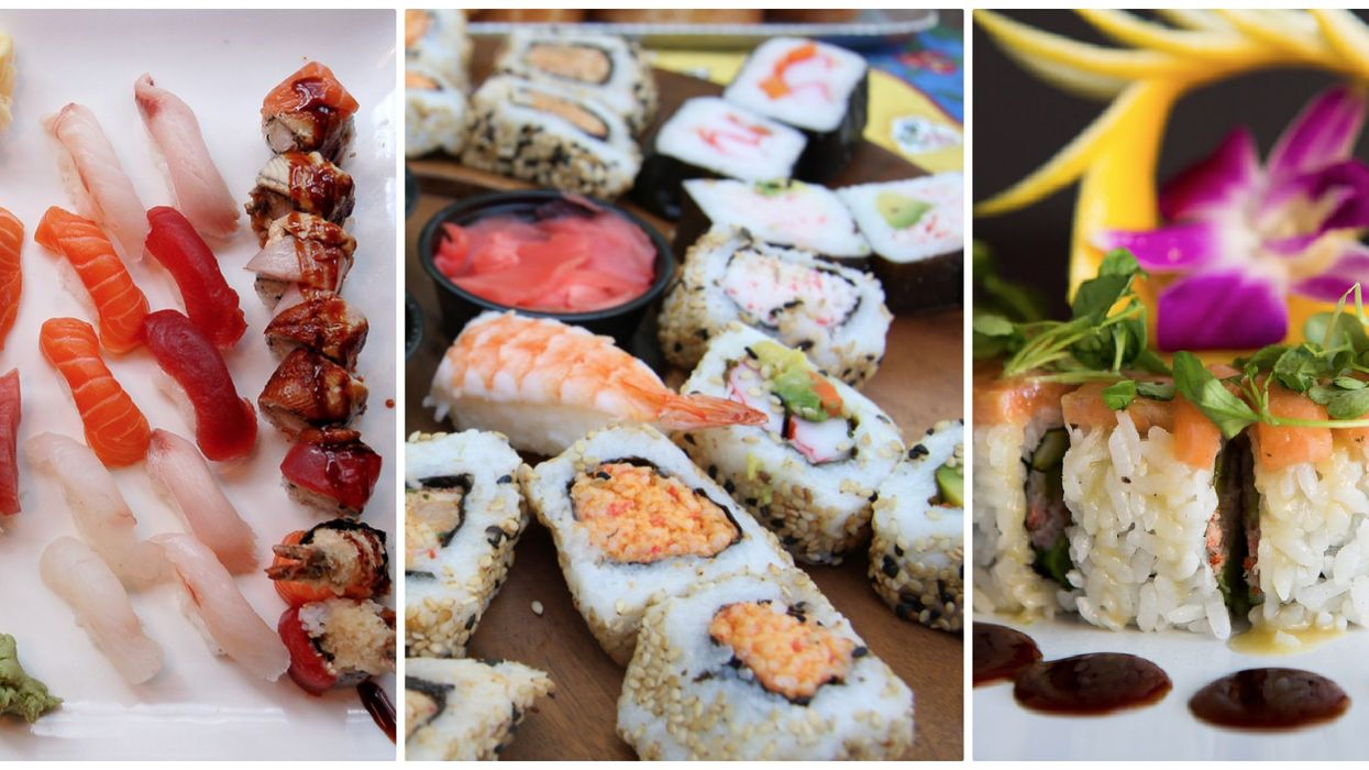 8 Of The Best Places To Get All-You-Can-Eat Sushi In Calgary