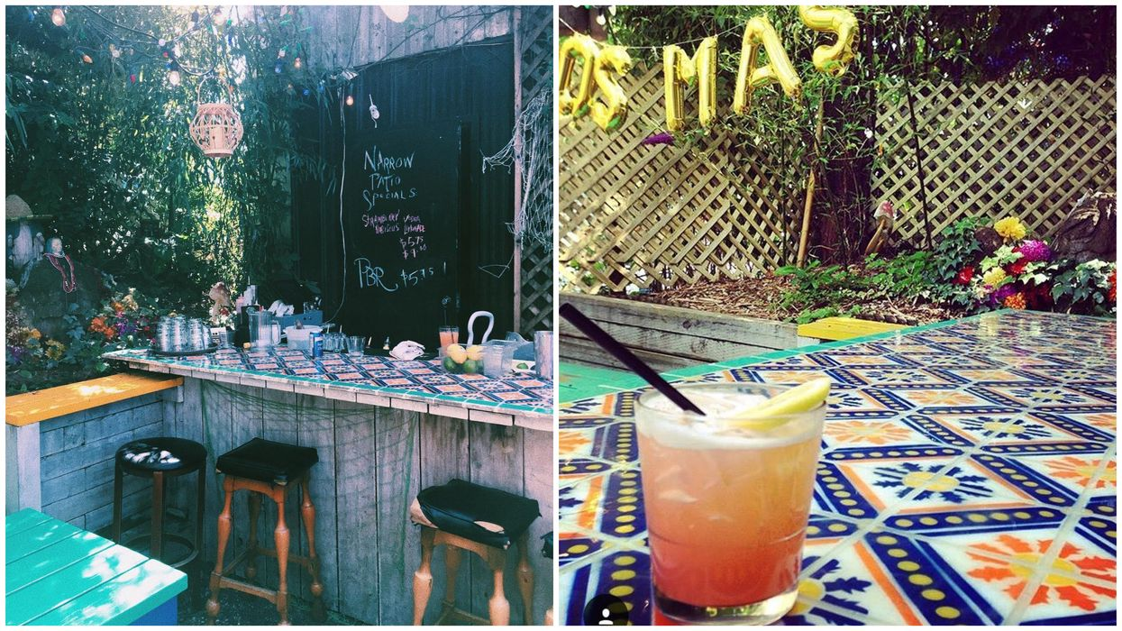This Secret Patio In Vancouver Will Give You All The Tropical Vibes This Summer