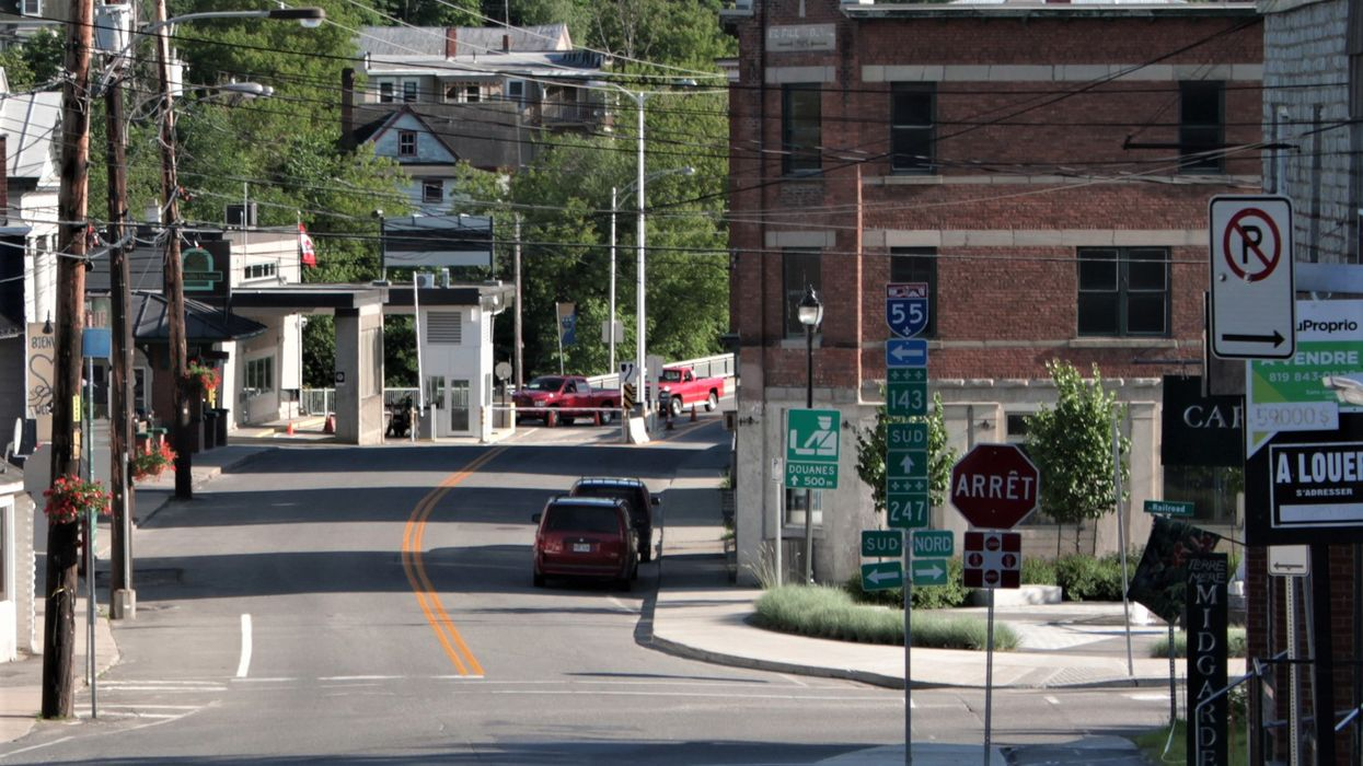There's A Tiny Town In Canada Where Citizens Can't Cross The Street Without A Valid Passport