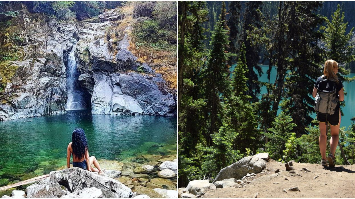 9 Easy Hikes That Will Lead You To The Most Serene Swimming Spots In Vancouver