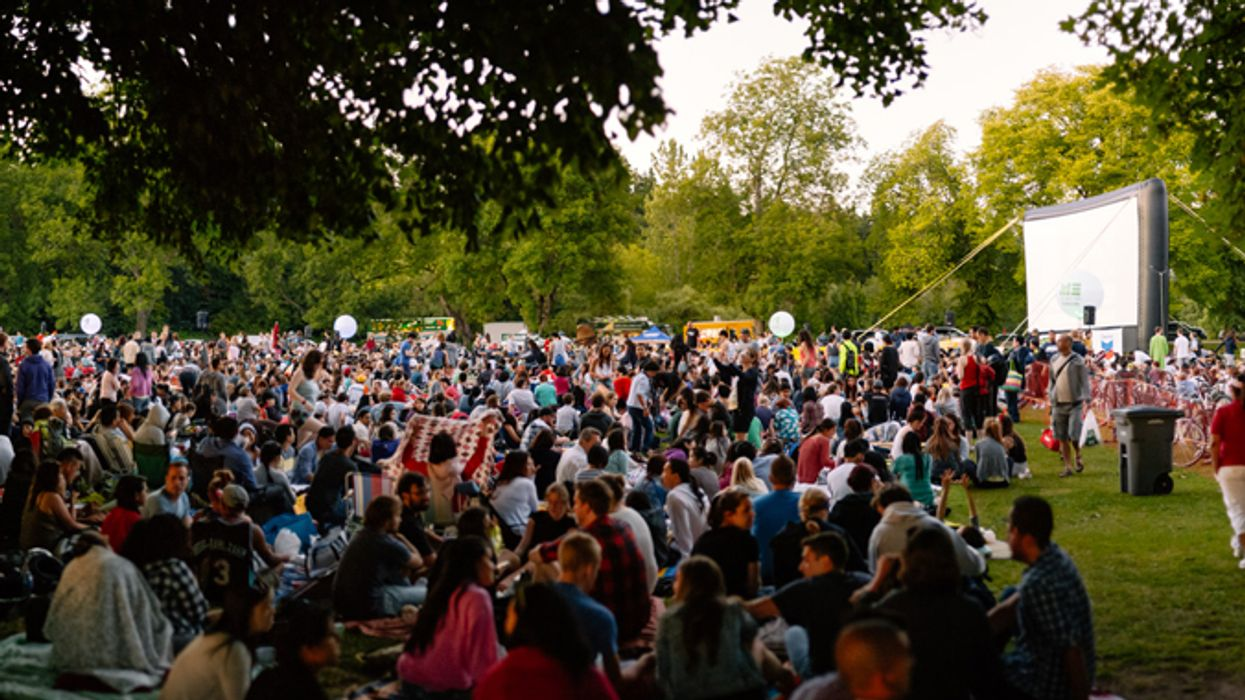 Vancouver's Free Outdoor Cinema Is Back And This Year You Can Pick The Movies